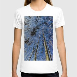English forest tree Art T-shirt