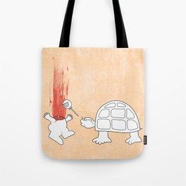 Mr. Turtle's Revenge Tote Bag