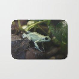 Mint Terribilis Poison Dart Frog Bath Mat