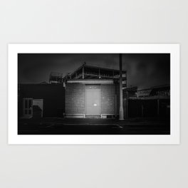 The Christchurch Electricity Substation Project XIX Art Print