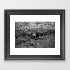 Love is All I can Give Framed Art Print