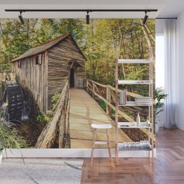 Cades Cove Grist Mill Wall Mural