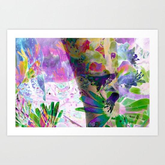 Tiptoe Art Print