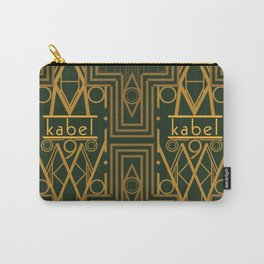 Kabel Type Portrait Green  Carry-All Pouch