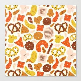 Snacks Canvas Print