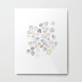 Diamonds Metal Print