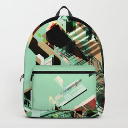 Urban Scape Fragments Backpack