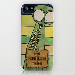 Filiberiddo from Jupiter (Trumpet) iPhone Case