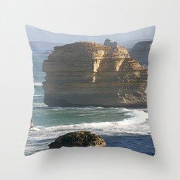 Giants of the Ocean Throw Pillow