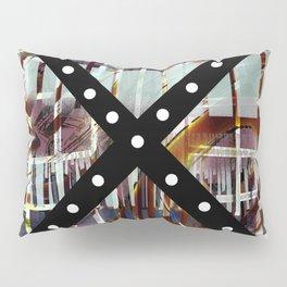 Black Axis Pillow Sham