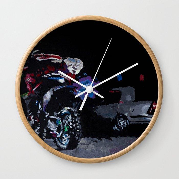 Night Rider Wall Clock