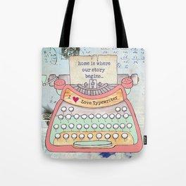 Typewriter #7 Tote Bag