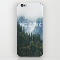 washington iPhone & iPod Skins featuring WASHINGTON by shannonfinnphotography