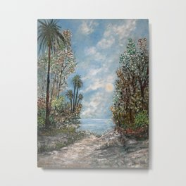 Almost at the Shore! Metal Print