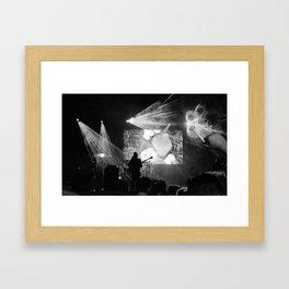 Kaiser Moon Framed Art Print