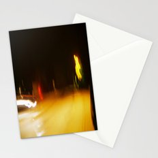 Yellow Lights Stationery Cards