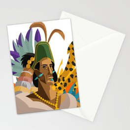 great aztec emperor Stationery Cards