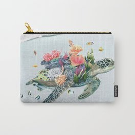 Coral Turtle • Save the Planet Carry-All Pouch