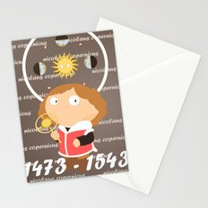 Nicolaus Copernicus Stationery Cards