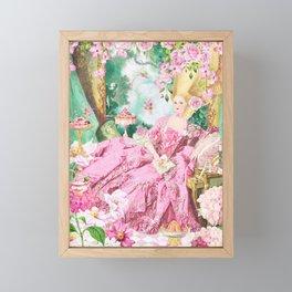 Marie Antoinette Garden Party Framed Mini Art Print