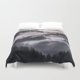 When the day begins Duvet Cover