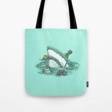 Happy Birthday Shark Tote Bag