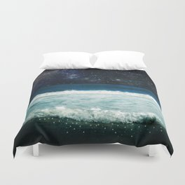 The Sound and the Silence Duvet Cover