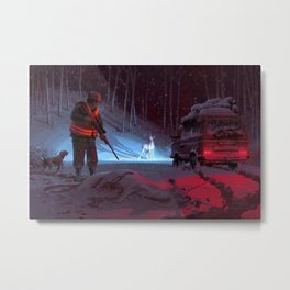 The Wrong Prey Metal Print
