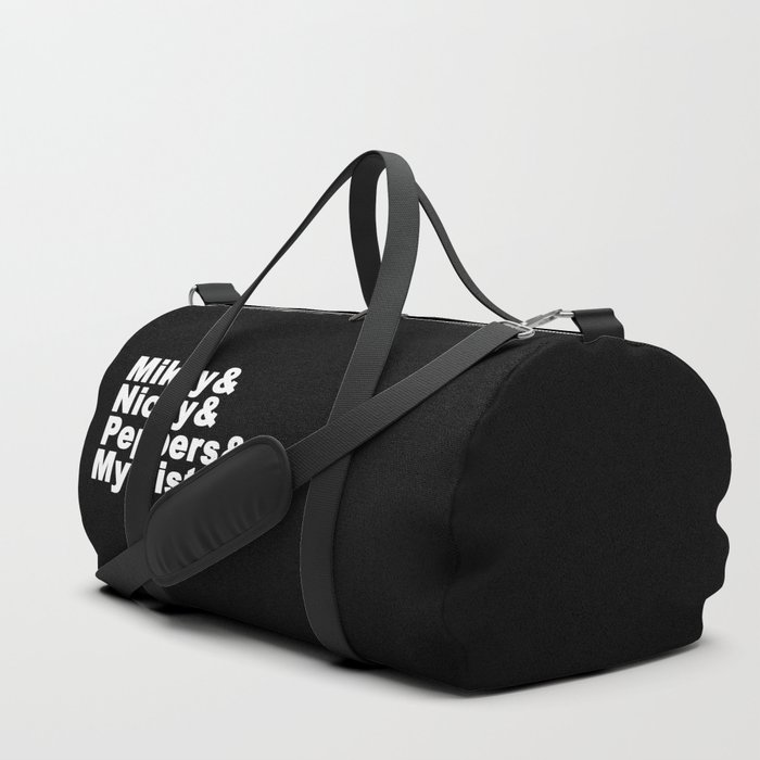 Angel Is Takin The Kids To Her Sista S Duffle Bag By Popmash