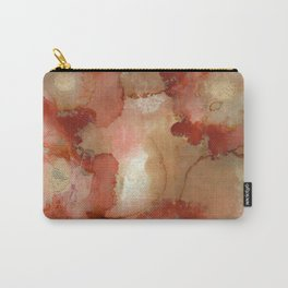 NEW Alcohol Ink Fields of Poppy Carry-All Pouch