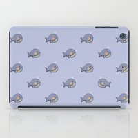 whales iPad Cases featuring whales by Jarvis Glasses