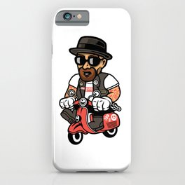 Heisenberg Scooter iPhone Case