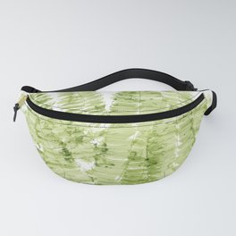 Fern Watercolor Fanny Pack