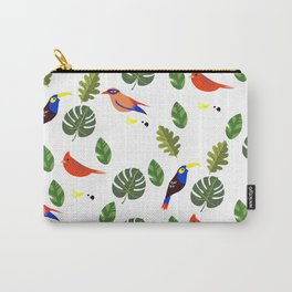 Springtime - First Birds of Spring Carry-All Pouch