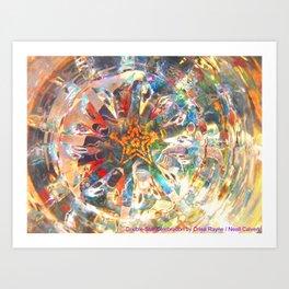 Double-Star Celebration Art Print