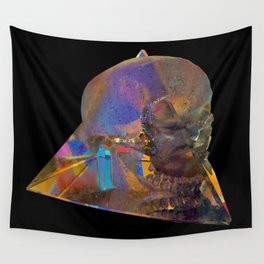 Crystal_Head Wall Tapestry