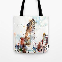 FlatIron Building, New York City Tote Bag