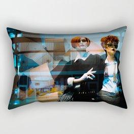 Mannequin Noir Rectangular Pillow