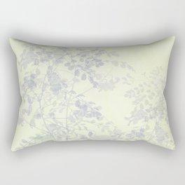 Morning in the garden Rectangular Pillow