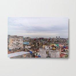 Ciudad de La Habana Metal Print