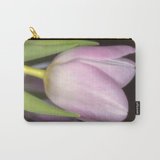 Pink tulip #3 Carry-All Pouch