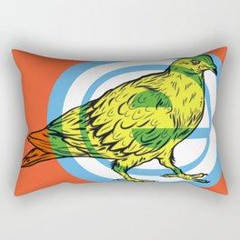 Mod Pigeon Rectangular Pillow