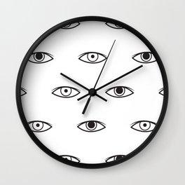 Eyes - David Bowie Wall Clock