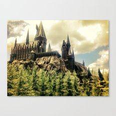 Hogwarts School of Witchcraft and Wizadry  Canvas Print