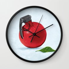 Pomegranate Wall Clock