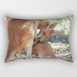 Mama and Joey Rectangular Pillow