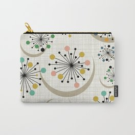 Mid Century Modern Starbursts 1a Carry-All Pouch