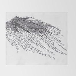 Psalm 91 Throw Blanket