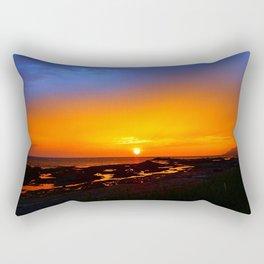 Sunrise on the Beach Rectangular Pillow