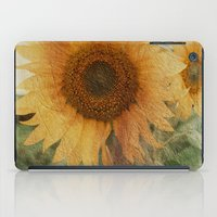 sunflower iPad Cases featuring sunflower by VanessaGF